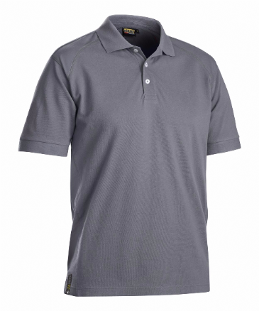 Blaklader 3326 Pique UV Protection Polo Shirt (Grey)